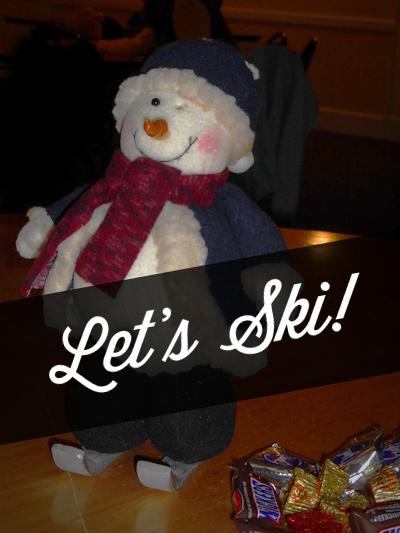 Let's Ski Snowman