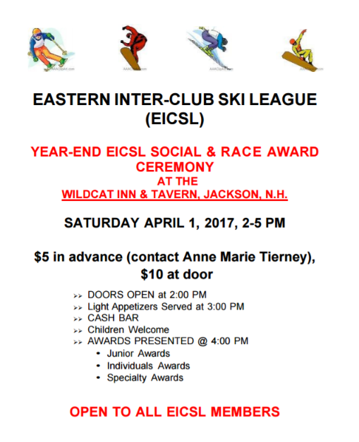 Year-End EICSL Social & Race Award Ceremony