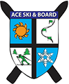 ace ski and board club logo